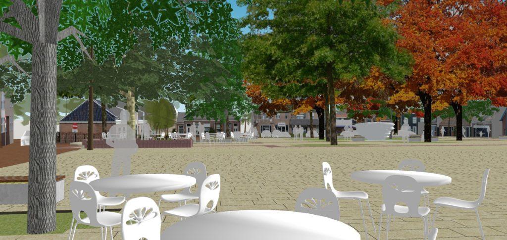 HOSPER-Fu Factory-Dokkum Markt-3d met terras