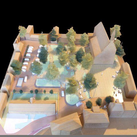 HOSPER-Fu Factory-Dokkum Markt-maquette