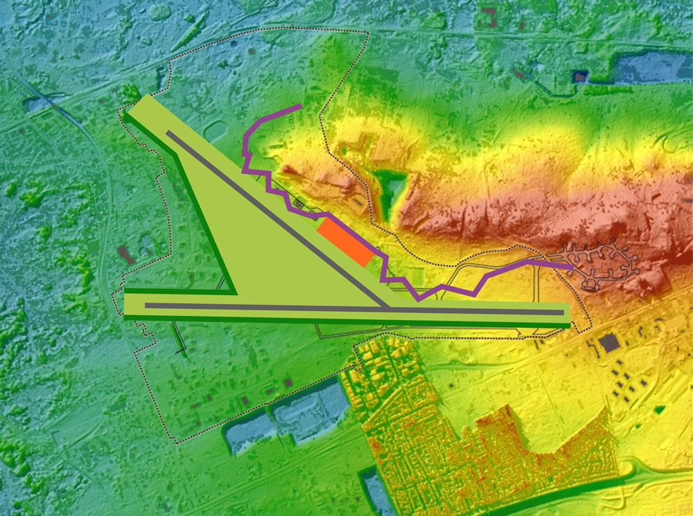 HOSPER-vliegbasis Soesterberg-concept