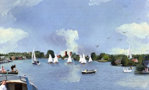 HOSPER-Watervrijstaat Gaasperdam-nieuw waterfront