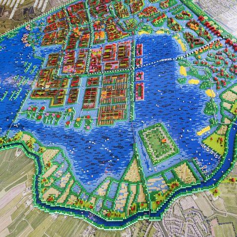 HOSPER-Watervrijstaat Gaasperdam-legomaquette 0