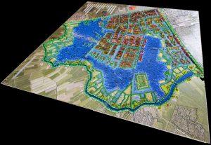 HOSPER-Watervrijstaat Gaasperdam-legomaquette 1