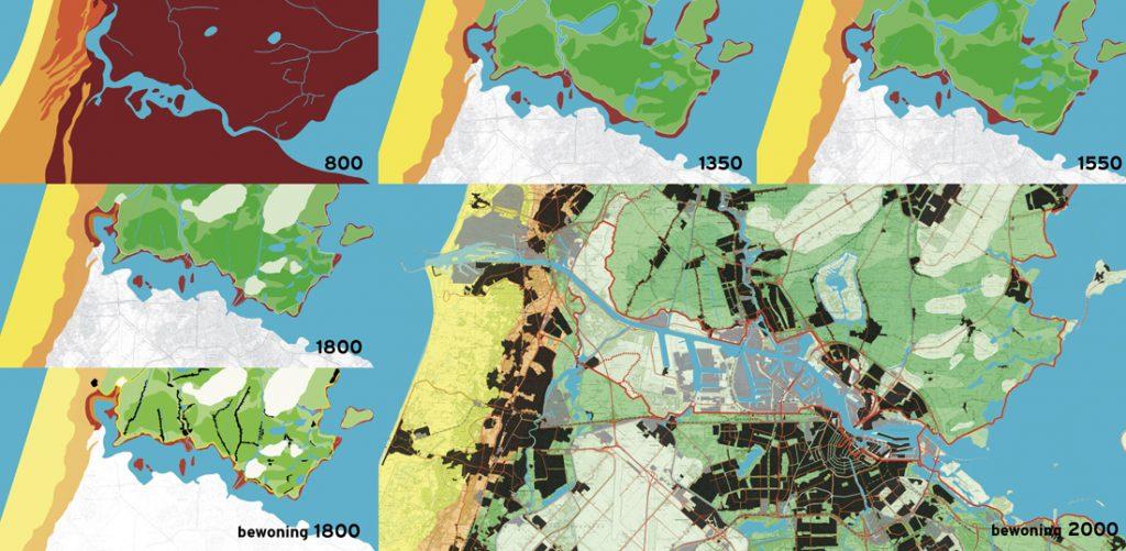 noordelijke IJdijken-kaarten