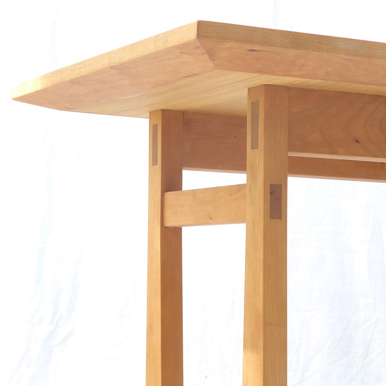 Weer Tafel Japanse Sidetable Van Kersenhout Fu Factory